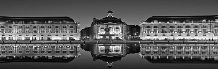 Place de la bourse noir&blanc